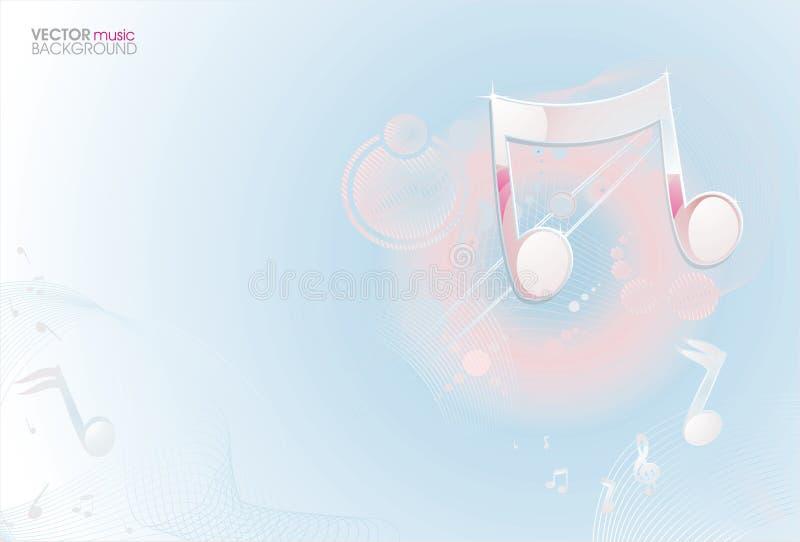 ljus musik för bakgrund vektor illustrationer