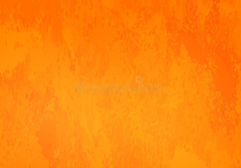 Ljus orange grungebakgrund royaltyfri fotografi