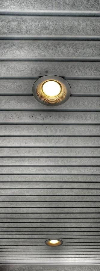Ljus på mitt tak arkivfoton