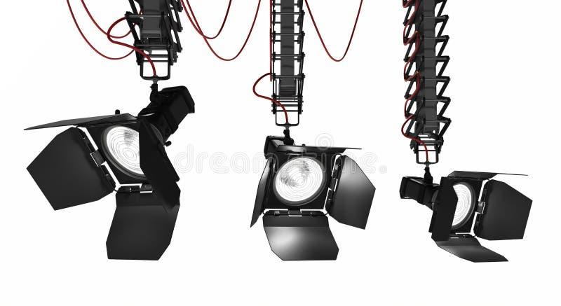 Ljus Pantograph för etapp royaltyfri fotografi