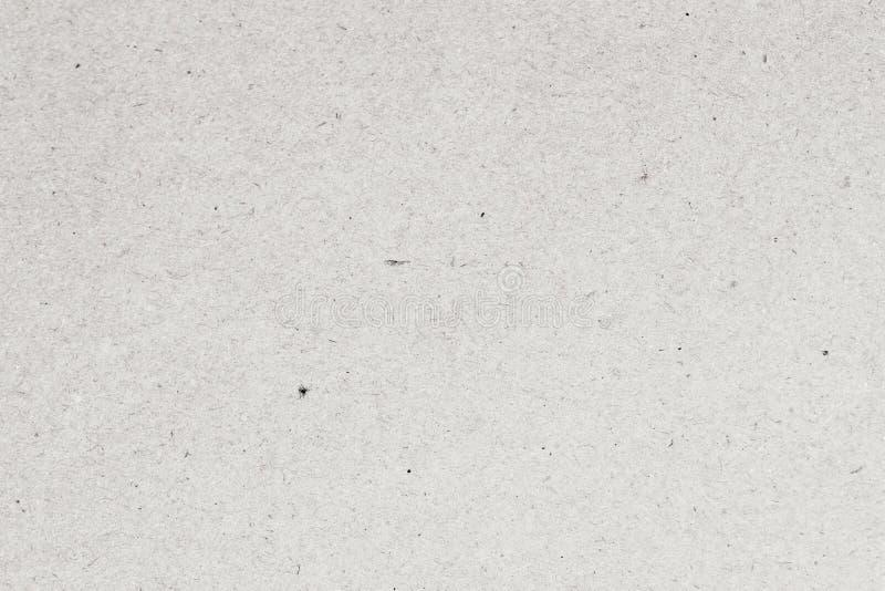 Ljus pappers- närbild för texturpappbakgrund Gammal pappers- yttersidatextur för Grunge med små medräknanden av cellulosa arkivbilder