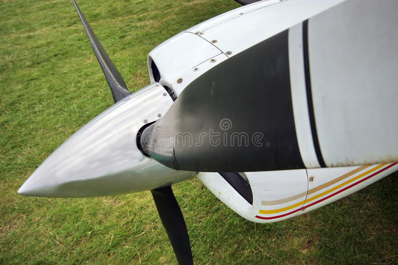 Ljus plan propeller royaltyfria bilder