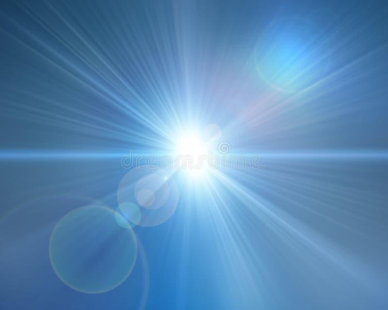 ljus punkt vektor illustrationer