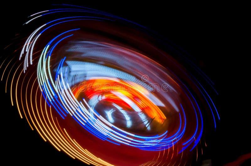 Ljus rörelse arkivbilder