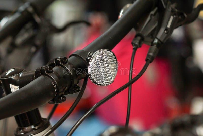 Ljus reflektor för cykel fotografering för bildbyråer
