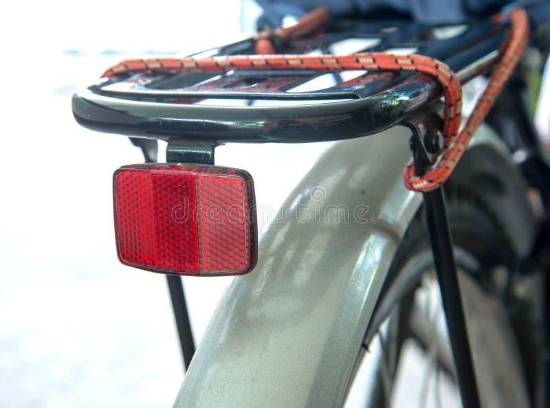 Ljus reflektor för cykel arkivbild