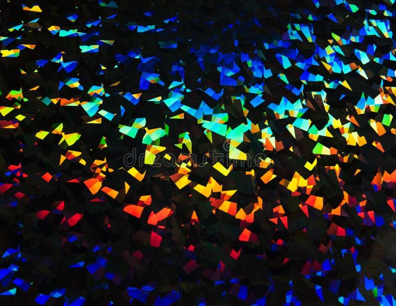Ljus refraktionbakgrund fotografering för bildbyråer