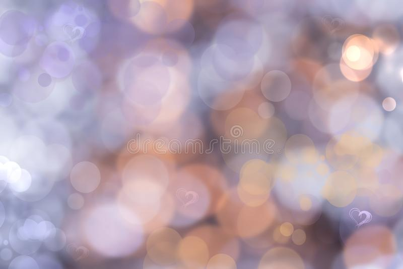 Ljus rosa pastellfärgad bakgrund för abstrakt festlig suddighet med något honom fotografering för bildbyråer