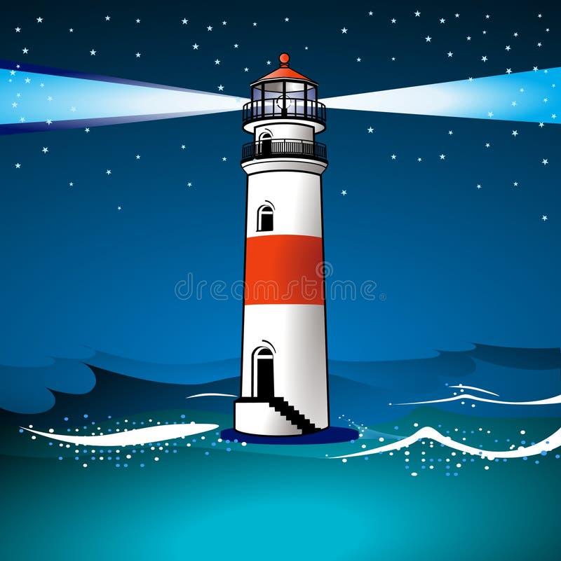 ljus skymning för hus royaltyfri illustrationer