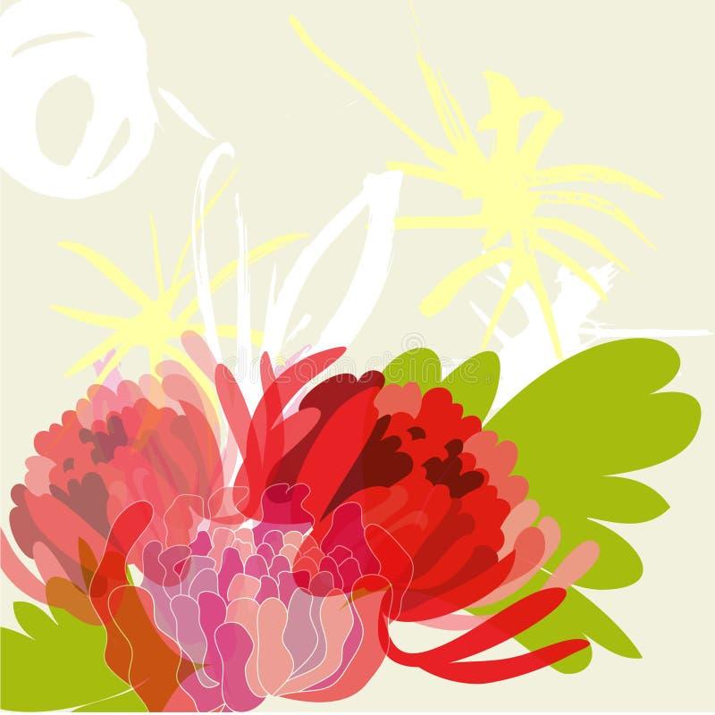 ljus sommar för bakgrund stock illustrationer