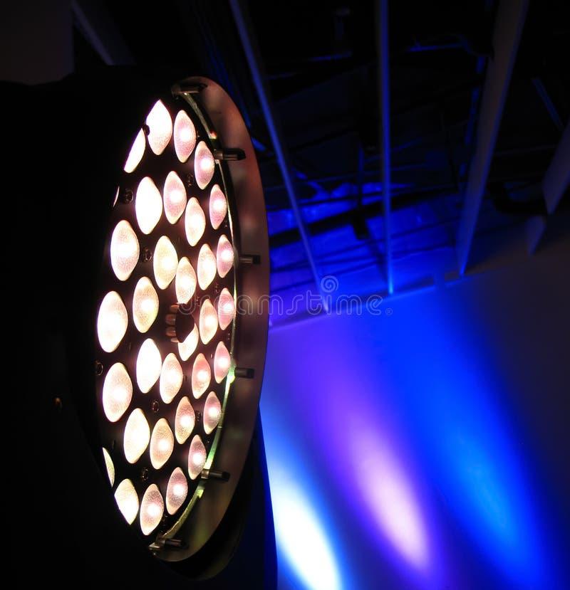 Ljus spektrumfärgbakgrund inomhus royaltyfri foto