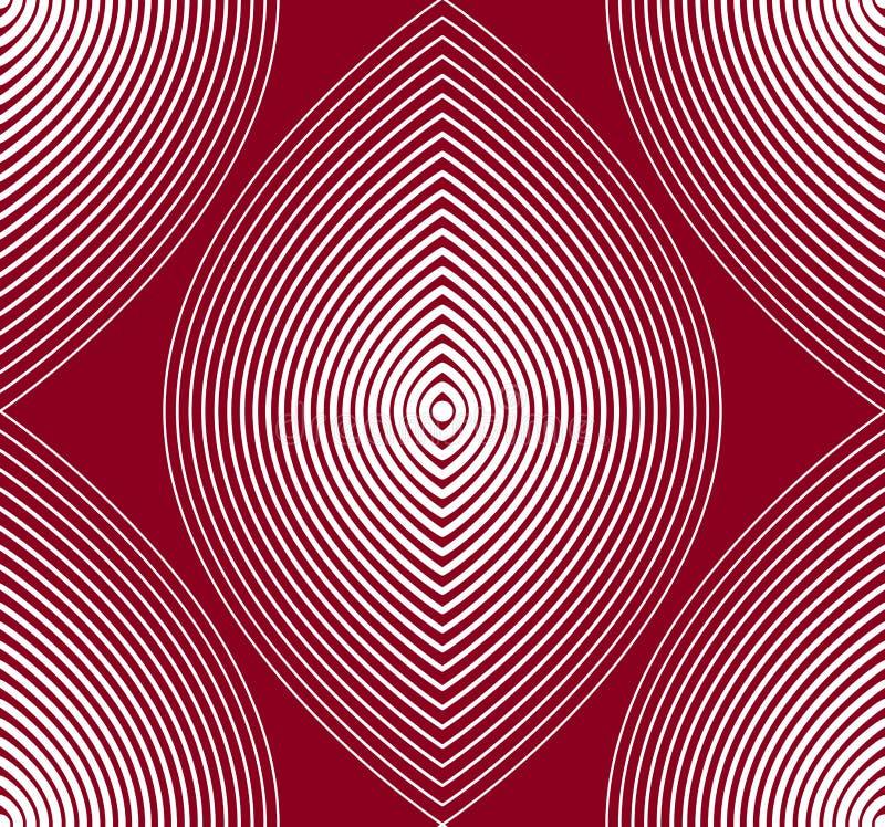Ljus strimmig ändlös modell för vektor, konst fortlöpande geometriskt b vektor illustrationer