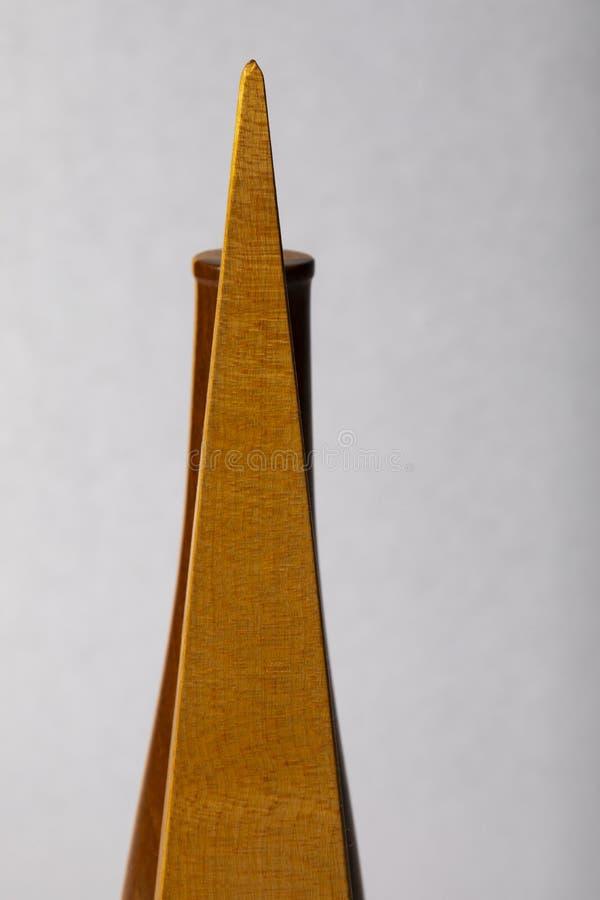 Ljus studie av träkonst I för objekt D ' royaltyfri fotografi