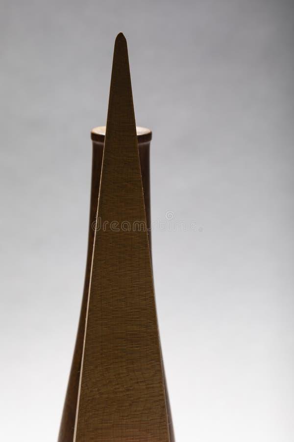 Ljus studie av träkonst II för objekt D ' royaltyfri bild