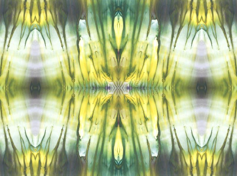 Ljus symmetrisk horisontalbakgrund stock illustrationer