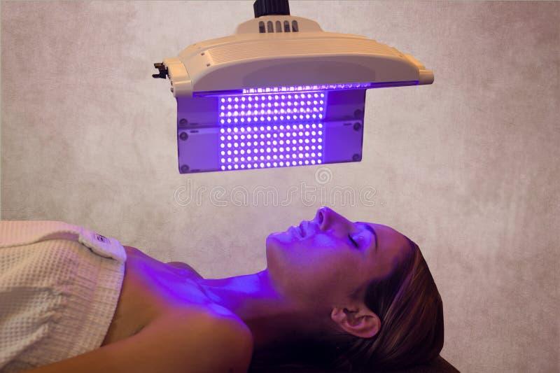 ljus terapi royaltyfria foton
