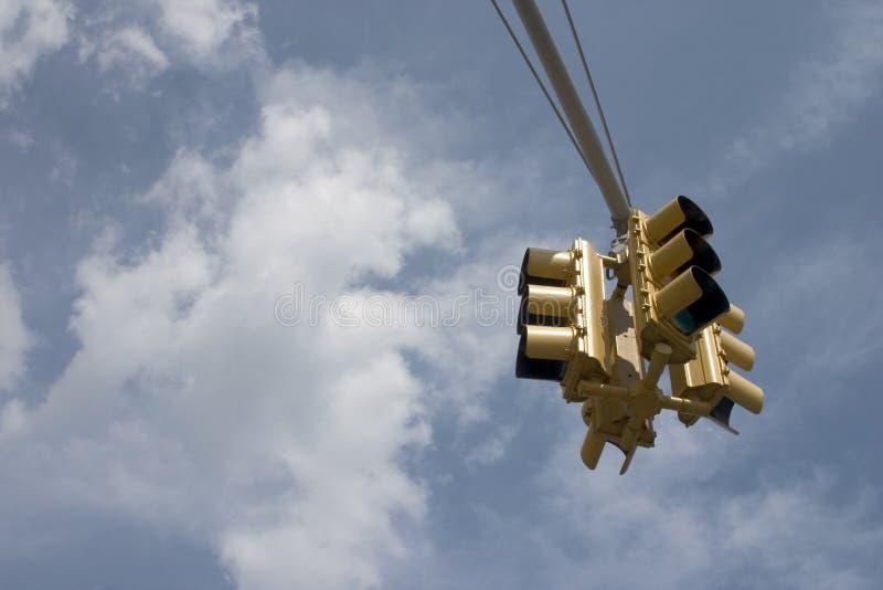 ljus trafik fotografering för bildbyråer