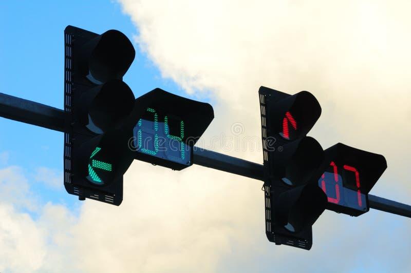 ljus trafik arkivfoton