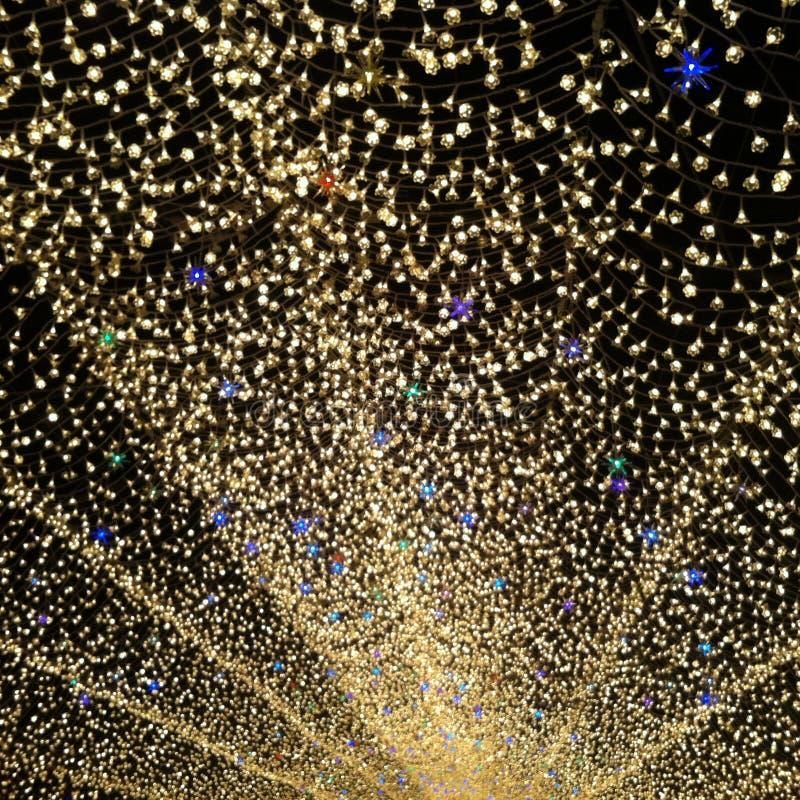 ljus tunnel royaltyfri foto