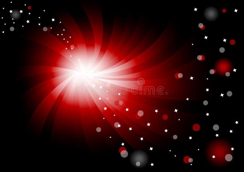 ljus vektor för abstrakt bakgrund royaltyfri illustrationer