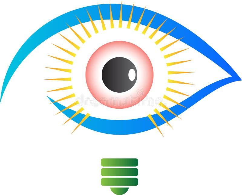 Ljus vision royaltyfri illustrationer