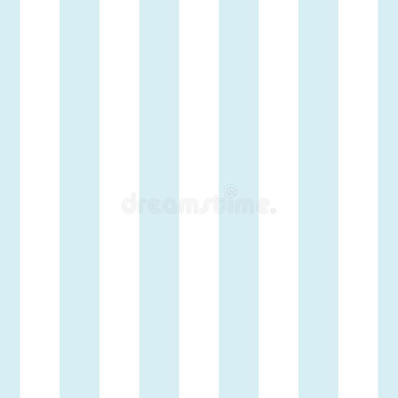 Ljus - vit för vertikala band sömlös modell för blått och vektor illustrationer