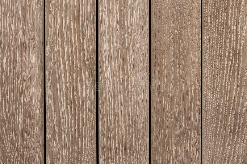 Ljus wood texturbakgrund guld- färgbräden för ljust trästaket Tr?vit bordl?gger Vit wood yttersida Korntimmertextur royaltyfri foto