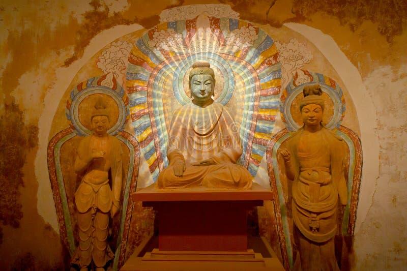 ljusa buddha royaltyfria foton