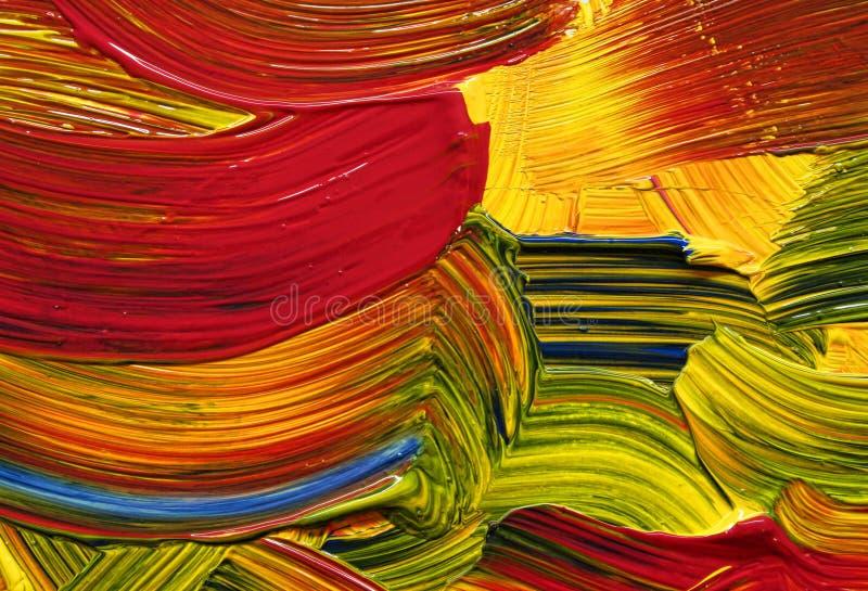 ljusa färgslaglängder royaltyfri bild