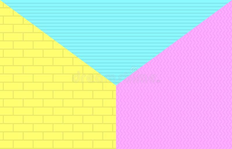 Ljusa kalla geometriska bakgrunder för din design Tillämpbart för baner, plakat, affischer, reklamblad etc. royaltyfri illustrationer