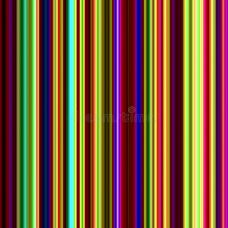 ljusa mångfärgade strimmor royaltyfri illustrationer