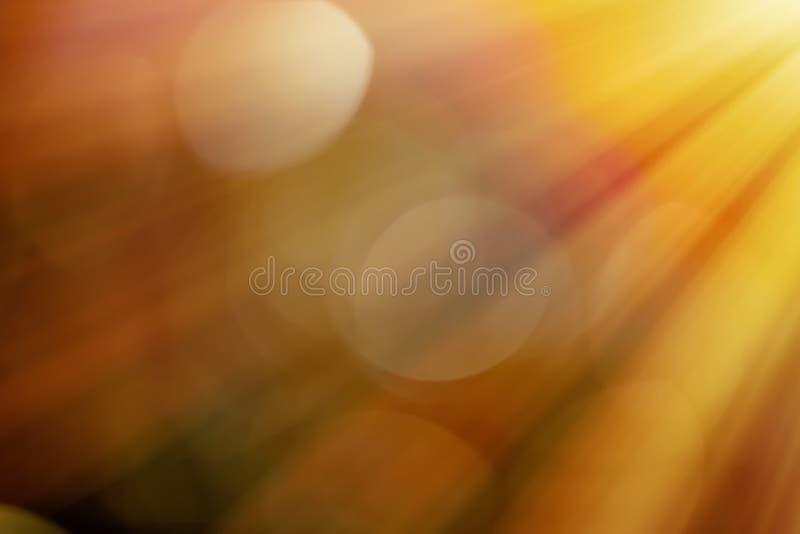 Ljusa str?lar och solsignalljus vektor illustrationer