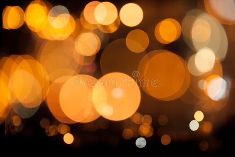 LjusBokeh bakgrund royaltyfri bild