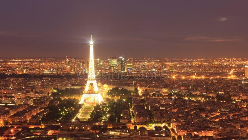 Ljusen av paris fotografering för bildbyråer