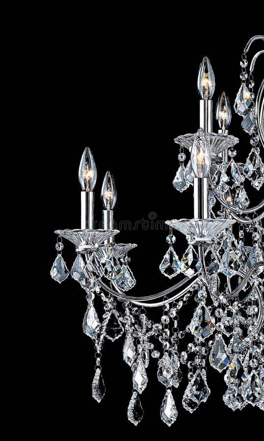 ljuskronakristall royaltyfria foton