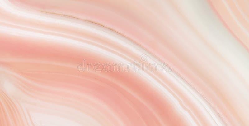 Ljusröd textur för onyxmarmor, onyxmarmor för inredesign och yttersida, hög upplösningsmarmor, röd onyx royaltyfri foto