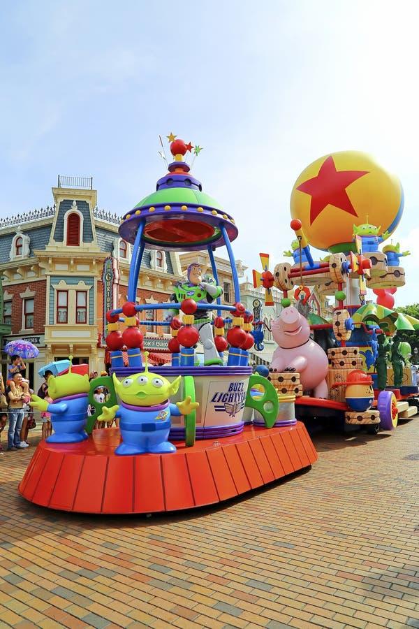Ljust år Disney för pixar rykte royaltyfri fotografi