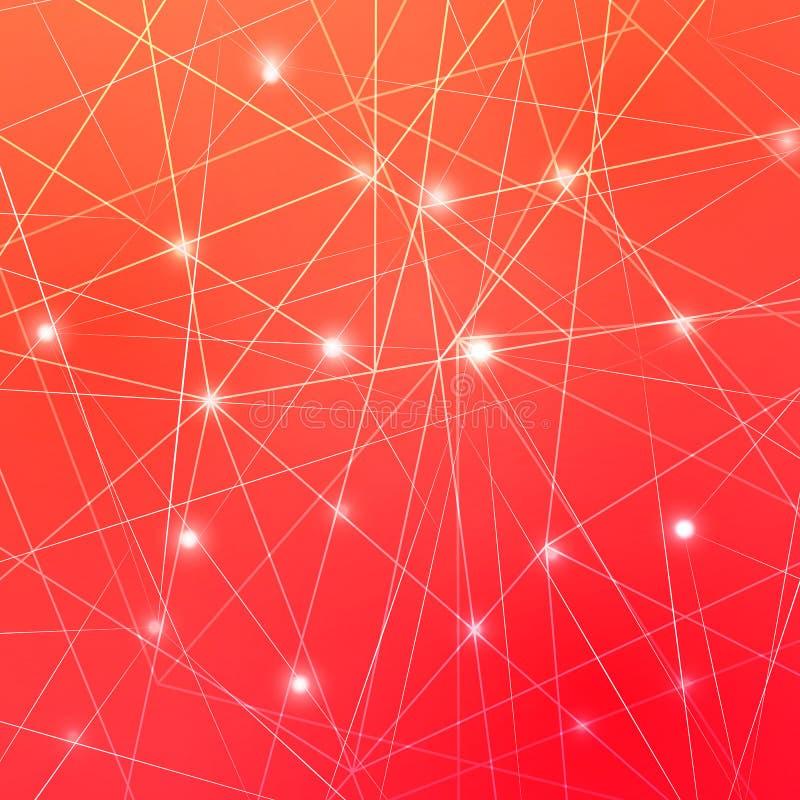 ljust futuristic f?r abstrakt bakgrund eps10 blommar yellow f?r wallpaper f?r vektor f?r klippning f?r rac f?r orange modell vadd royaltyfri illustrationer