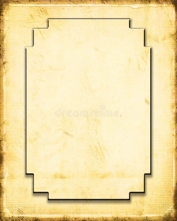 ljust gammalt papper royaltyfri illustrationer