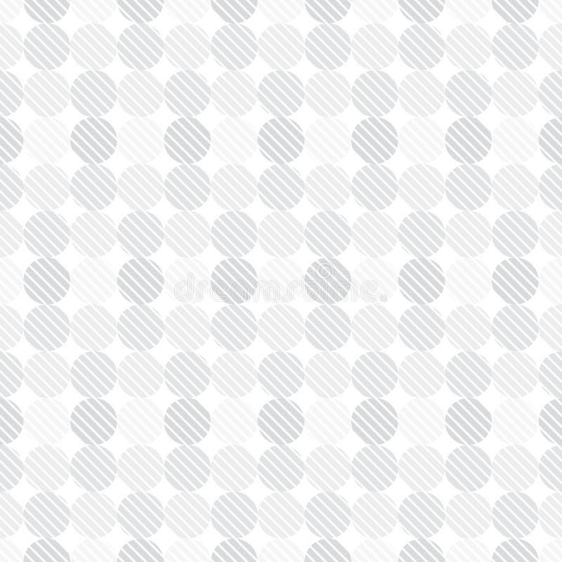 Pricker seamless mönstrar royaltyfri illustrationer