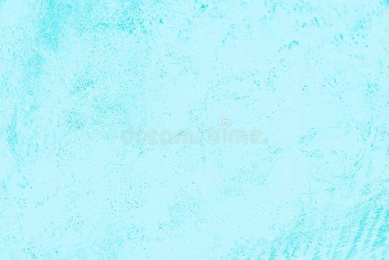 Ljust - konkret bakgrund för blå turkosfärg, betonmodell royaltyfria bilder