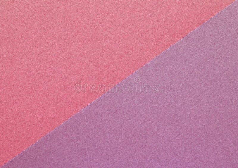 Ljust - rosa pappers- bakgrund, steg texturerad bakgrund för färghantverket papper fotografering för bildbyråer