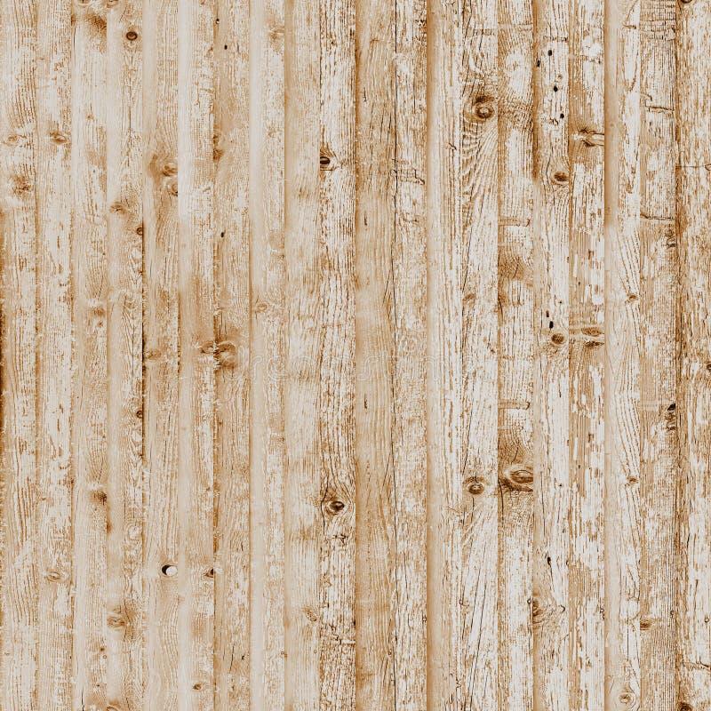 Ljust sömlöst belagt med tegel trä arkivfoto