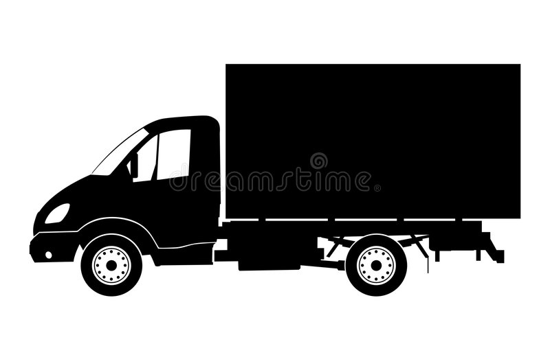 lkw ciężarówka royalty ilustracja