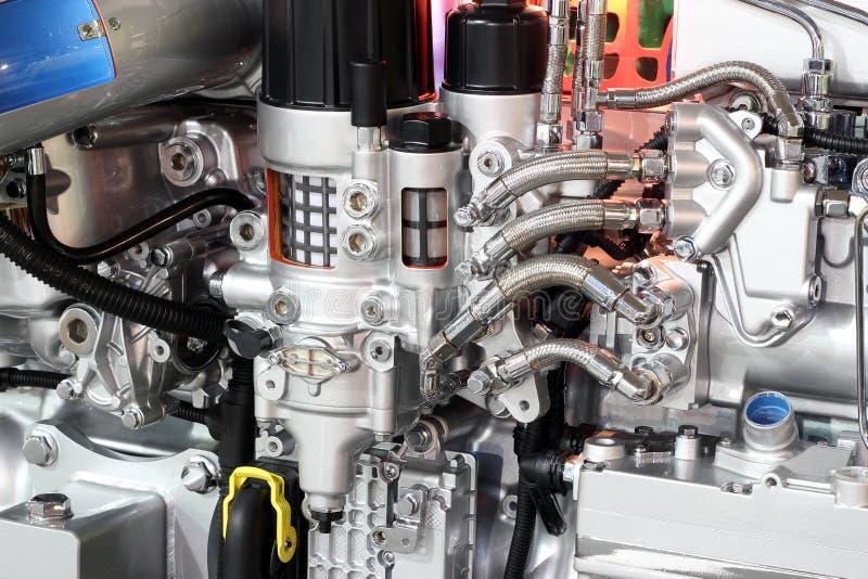 LKW-Motordetail stockfotos