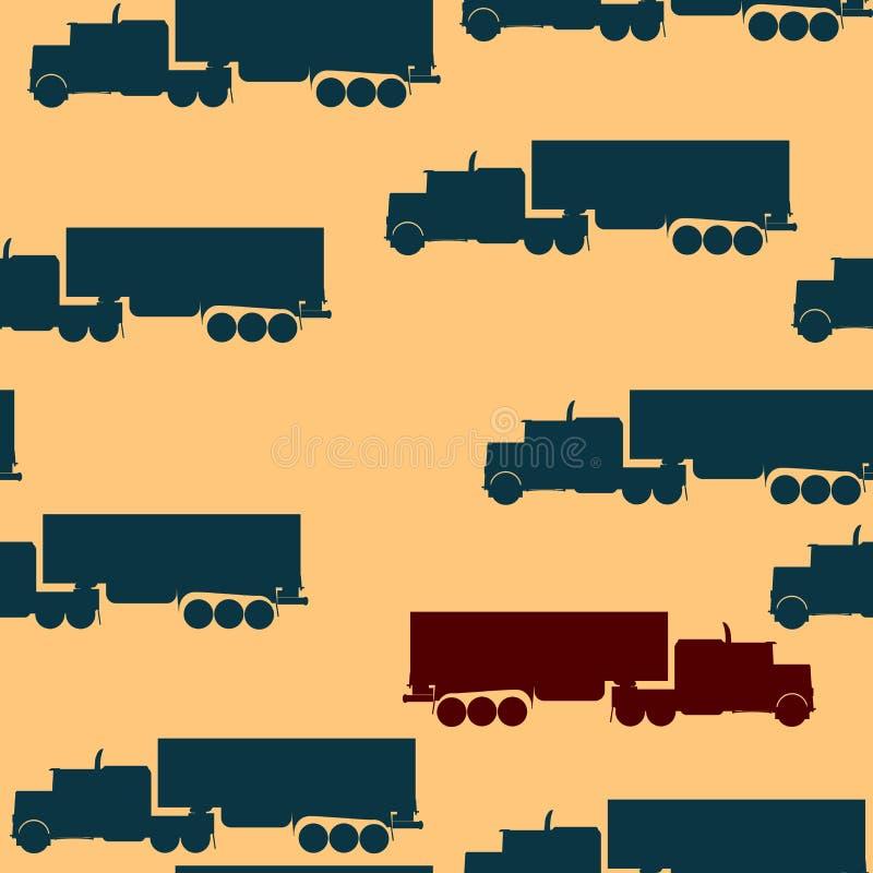 LKW-Muster lizenzfreie abbildung
