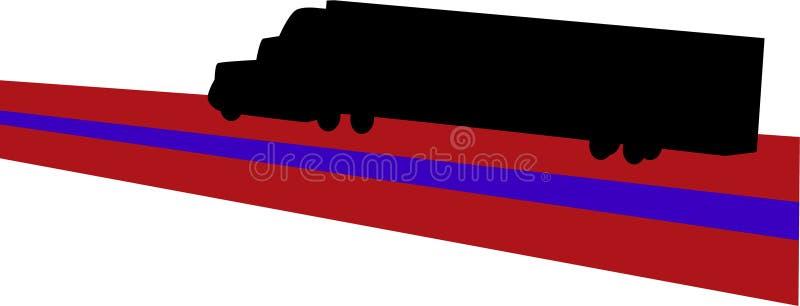 LKW-Transport vektor abbildung