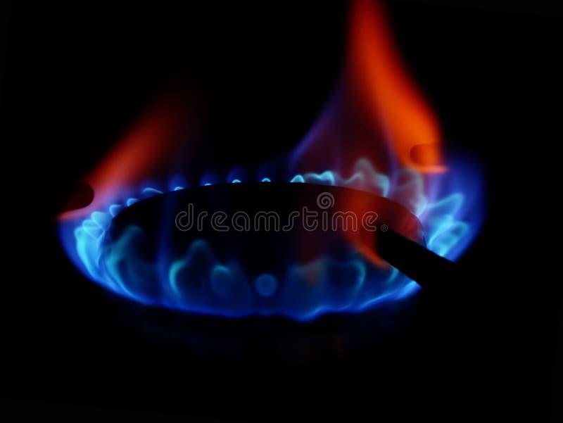 Llama 4 del gas fotografía de archivo libre de regalías