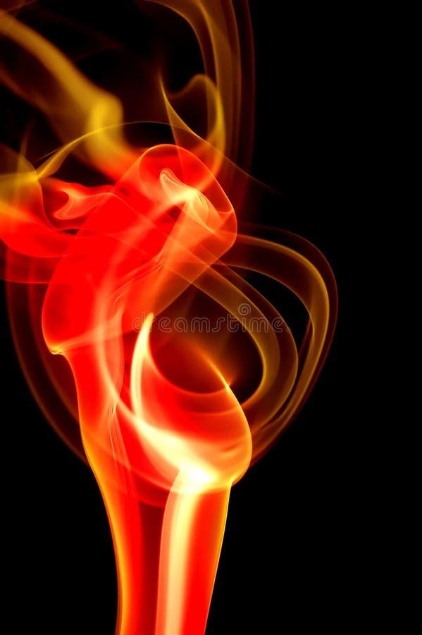 Llama caliente del fuego imágenes de archivo libres de regalías