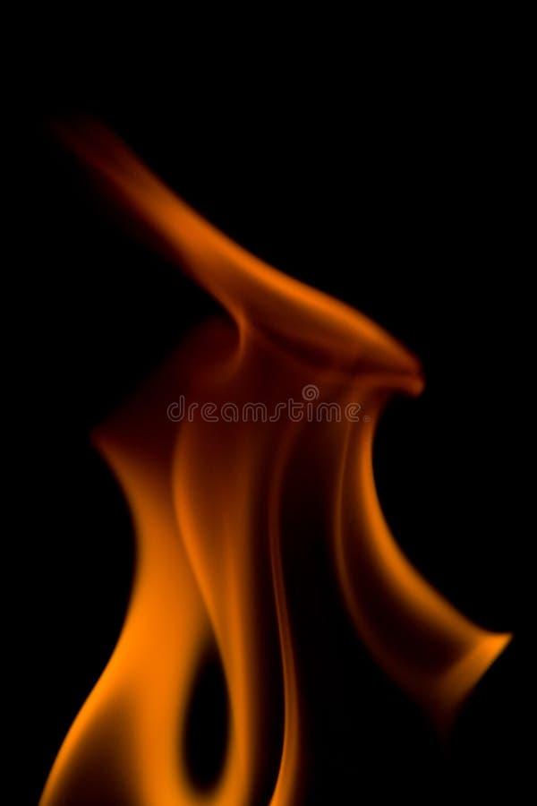 Llama del fuego imagen de archivo